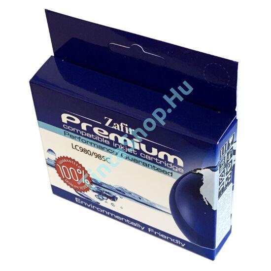 Brother LC985 CY cián kék (CY-Cyan) kompatibilis (utángyártott) tintapatron