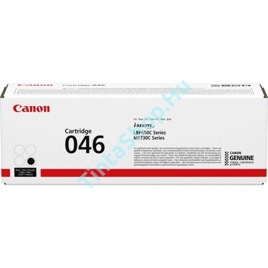 Canon CRG-046 BK fekete (BK-Black) eredeti (gyári, új) toner
