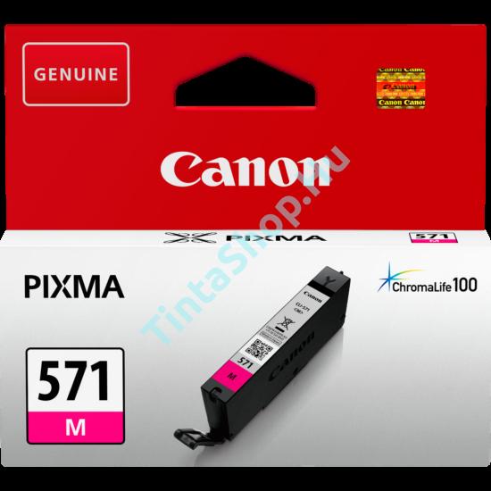 Canon CLI-571 MG bíbor (piros) (MG-Magenta) eredeti (gyári, új) tintapatron