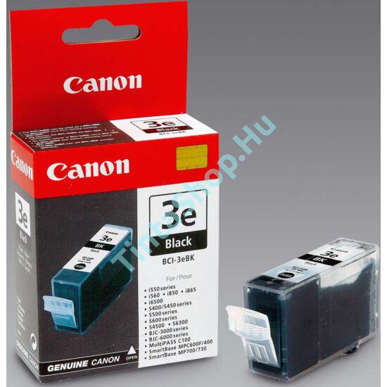 Canon BCI-3 BK fekete (BK-Black) eredeti (gyári, új) tintapatron