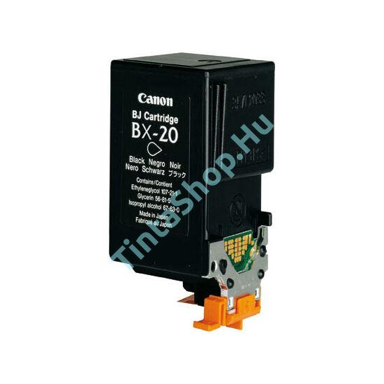 Canon BX-20 BK fekete (BK-Black) kompatibilis (utángyártott) tintapatron