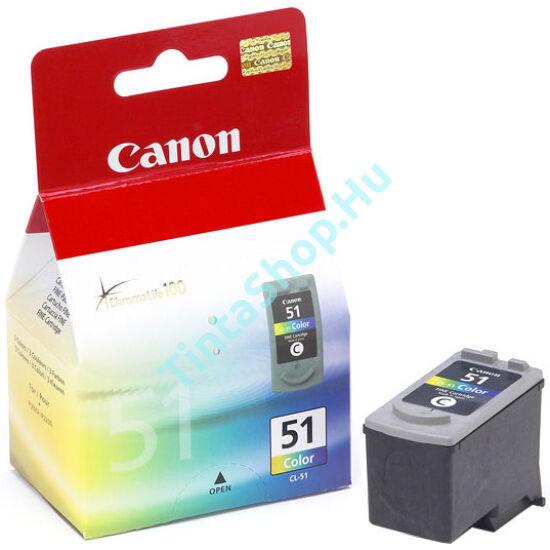 Canon CL-51 színes (C-Color) eredeti (gyári, új)  tintapatron