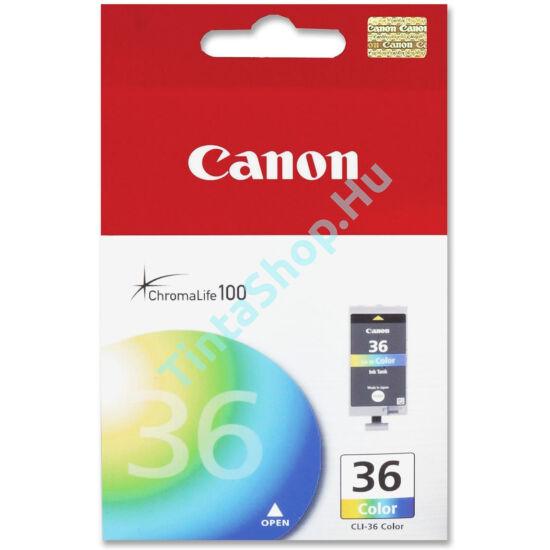 Canon CLI-36 C színes (C-Color) eredeti (gyári, új) tintapatron