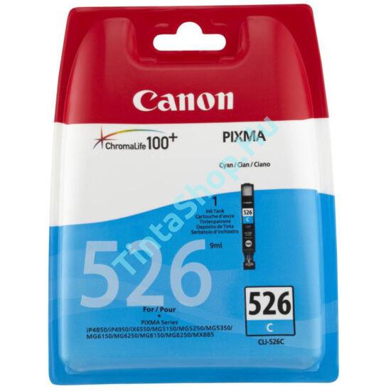 Canon CLI-526 CY cián kék (CY-Cyan) eredeti (gyári, új) tintapatron