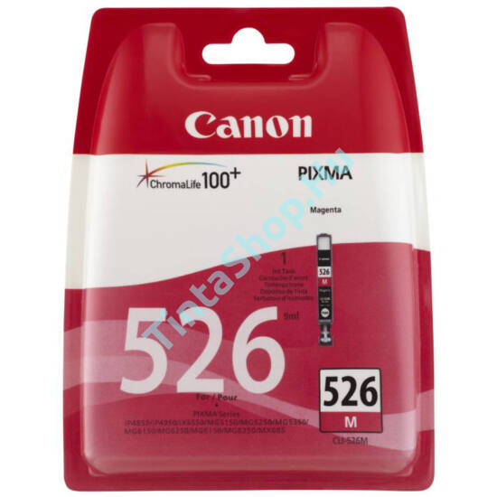 Canon CLI-526 MG magenta (MG-Magenta) eredeti (gyári, új) tintapatron