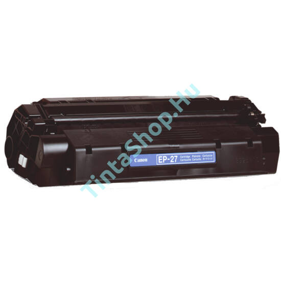Canon EP-27 BK fekete (BK-Black) kompatibilis (utángyártott) toner