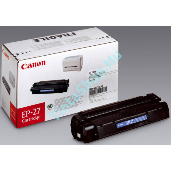 Canon EP-27 BK fekete (BK-Black) eredeti (gyári, új) toner