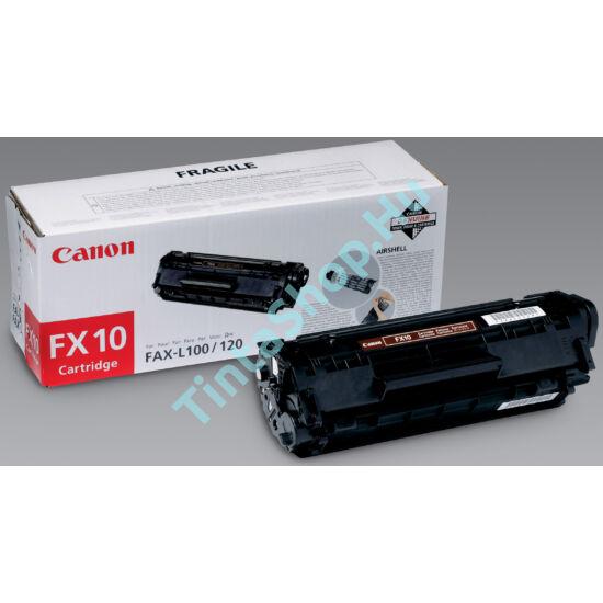 Canon FX-10 BK fekete (BK-Black) eredeti (gyári, új) toner