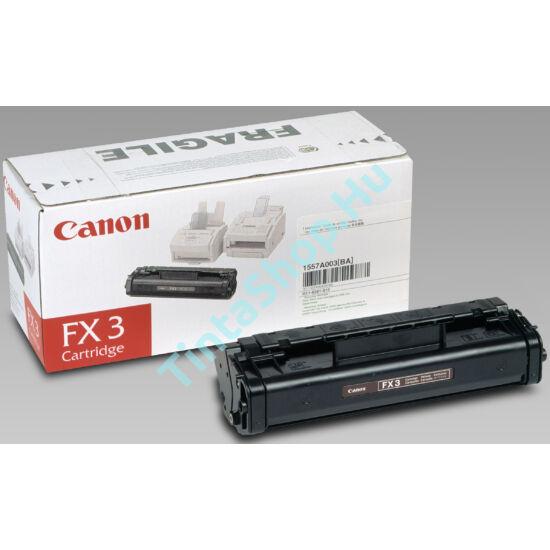 Canon FX-3 BK fekete (BK-Black) eredeti (gyári, új) toner
