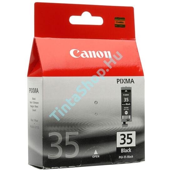 Canon PGI-35 BK fekete (BK-Black) eredeti (gyári, új) tintapatron
