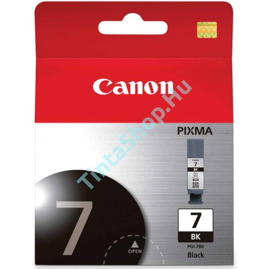 Canon PGI-7 BK fekete (BK-Black) eredeti (gyári, új) tintapatron