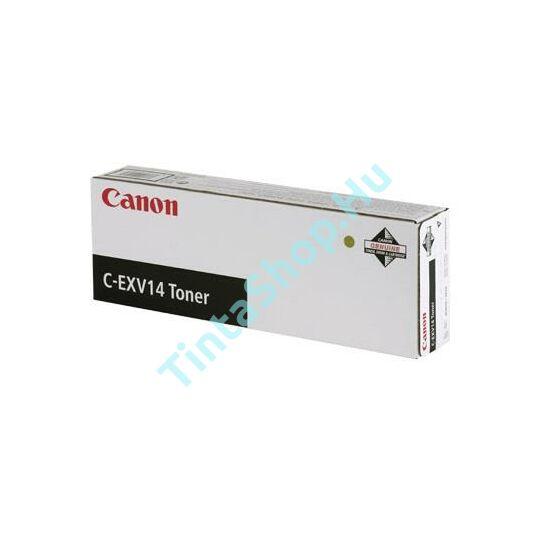 Canon IR 2016 (C-EXV 14) BK fekete (BK-Black) eredeti (gyári, új) toner