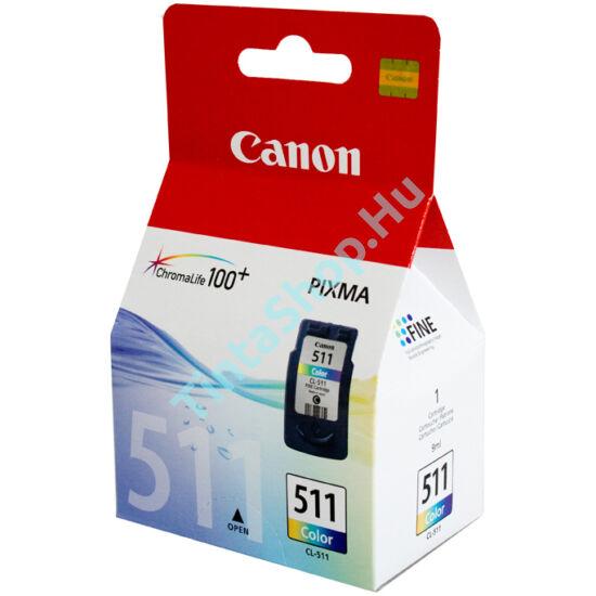 Canon CL-511 színes (C-Color) eredeti (gyári,új) tintapatron