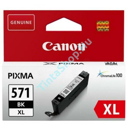 Canon CLI-571 BK XL fekete (BK-Black) nagy kapacitású eredeti (gyári, új) tintapatron