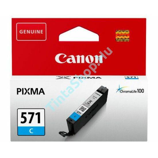 Canon CLI-571 CY cián (kék) (CY-Cyan) eredeti (gyári, új) tintapatron