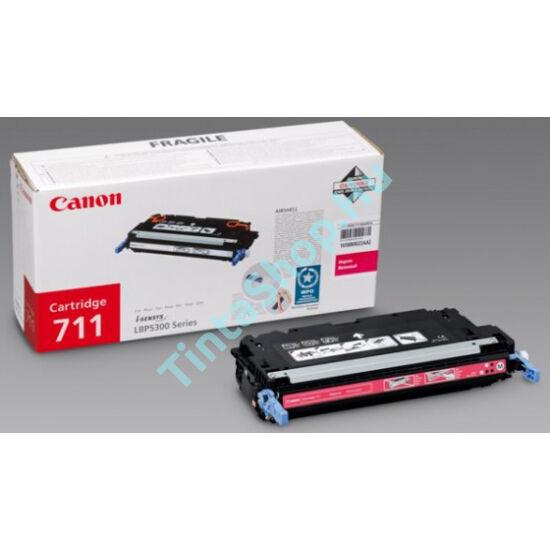 Canon CRG-711 MG bíbor (piros) (MG-Magenta) eredeti (gyári, új) toner