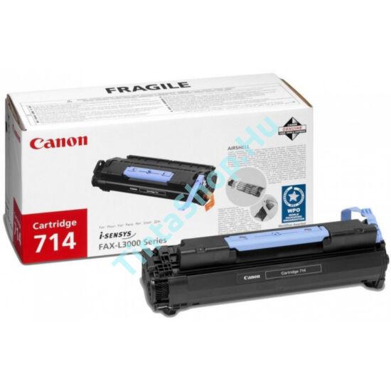 Canon CRG-714 BK fekete (BK-Black) eredeti (gyári, új) toner