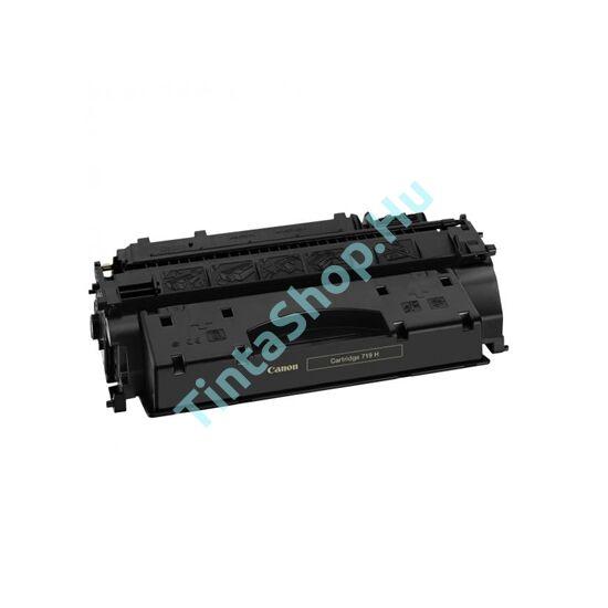 Canon CRG-719H BK fekete (BK-Black) nagy kapacitású kompatibilis (utángyártott) toner