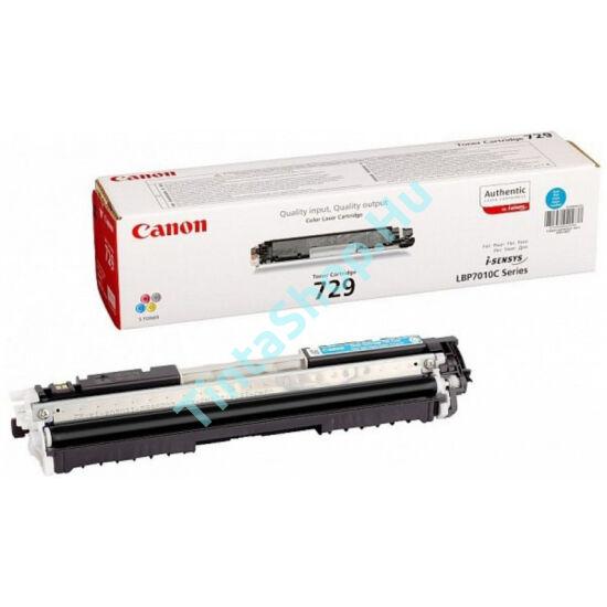 Canon CRG-729 CY cián (kék) (CY-Cyan) eredeti (gyári, új) toner