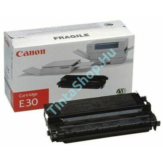 Canon E-30 BK fekete (BK-Black) eredeti (gyári, új) toner