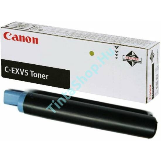 Canon IR 1600 (C-EXV 5) BK fekete (BK-Black) eredeti (gyári, új) toner