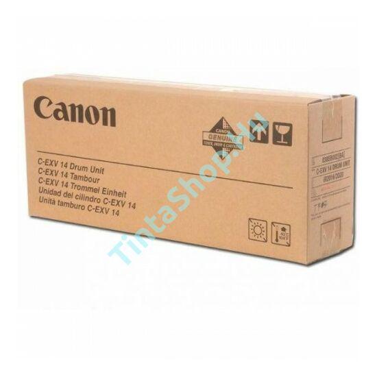 Canon IR 2016 (C-EXV 14) BK fekete (BK-Black) eredeti (gyári, új) dobegység