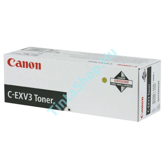 Canon IR 2200 (C-EXV 3) BK fekete (BK-Black) eredeti (gyári, új) toner