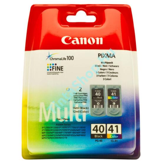 Canon PG-40 + CL-41 fekete és színes (BK-Color) eredeti (gyári, új) tintapatron