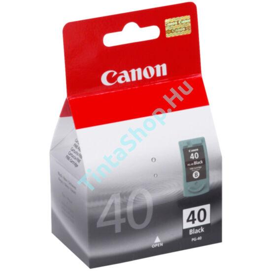 Canon PG-40 fekete (BK-Black) eredeti (gyári,új)  tintapatron