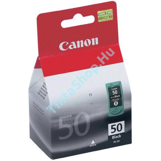 Canon PG-50 fekete (BK-Black) eredeti (gyári,új)  tintapatron
