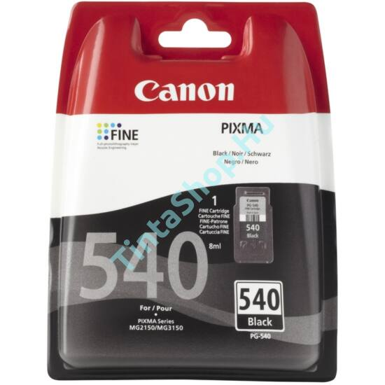 Canon PG-540 fekete (BK-Black) eredeti (gyári, új) tintapatron