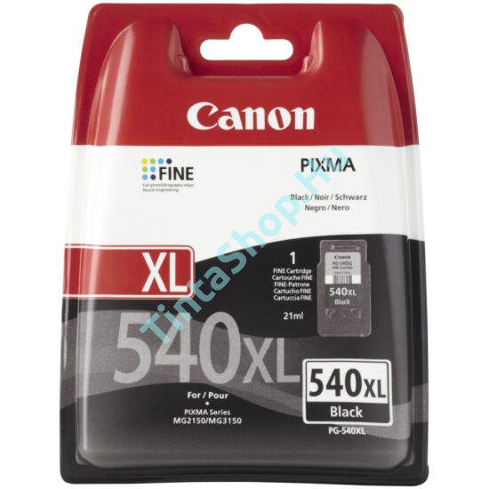 Canon PG-540 XL fekete (BK-Black) nagy kapacitású eredeti (gyári, új) tintapatron