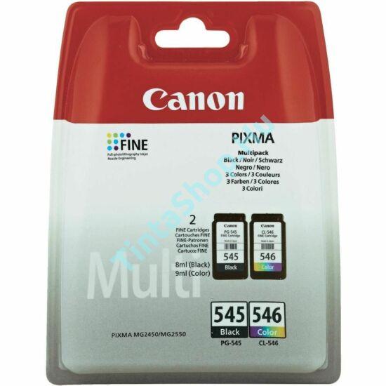 Canon PG-545 + CL-546 fekete és színes (BK-Color) eredeti (gyári, új) multipack