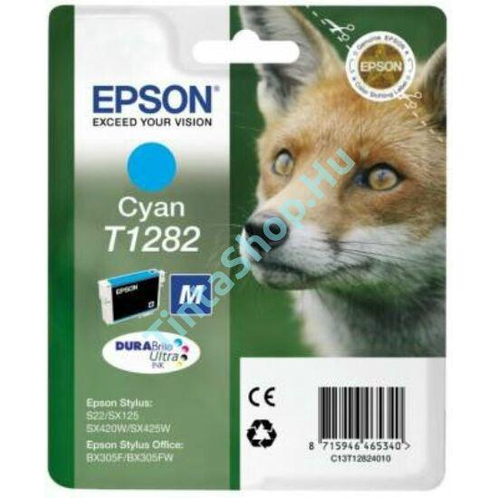 Epson T1282 CY cián (kék) (CY-Cyan) eredeti (gyári, új) tintapatron