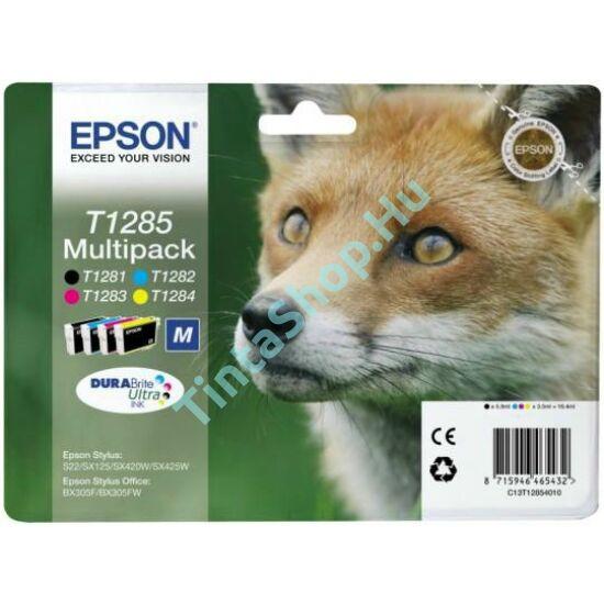 Epson T1285 BCMY Multipack eredeti (gyári, új) tintapatron