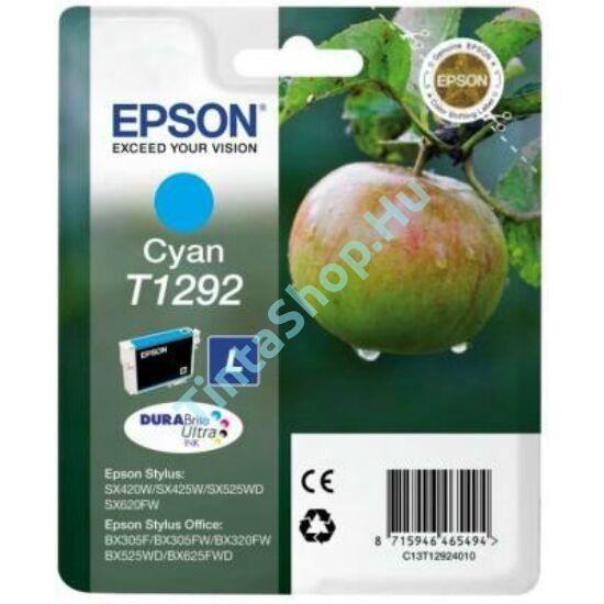 Epson T1292 CY cián kék (CY-Cyan) eredeti (gyári, új) tintapatron