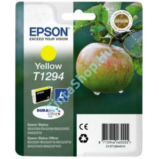 Epson T1294 YL sárga (YL-Yellow) eredeti (gyári, új) tintapatron
