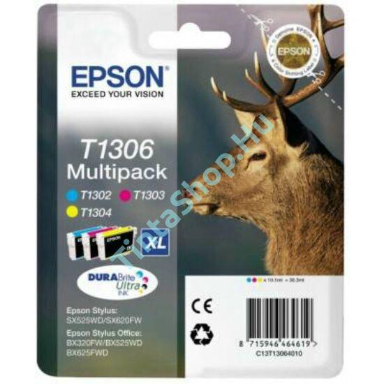 Epson T1306 XL (T1302 XL, T1303 XL, T1304 XL) Multipack eredeti (gyári, új) tintapatron