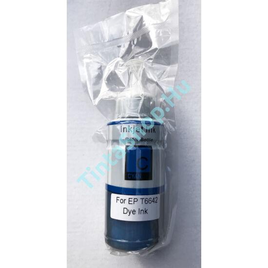 Epson T6642 CY cián (kék) (CY-Cyan) kompatibilis (utángyártott) tinta