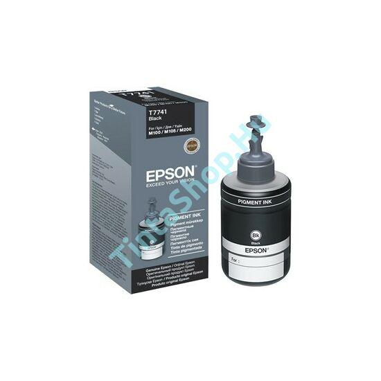 Epson T7741 BK fekete (BK-Black) eredeti (gyári, új) tinta