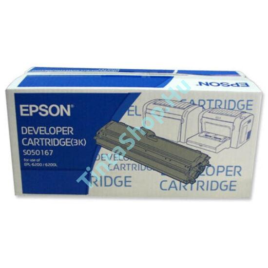 Epson EPL6200 (S050166) BK fekete (BK-Black) nagy kapacitású eredeti (gyári, új) toner