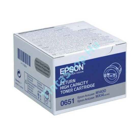 Epson S050651 (M1400,MX14) BK fekete (BK-Black) eredeti (gyári, új) toner