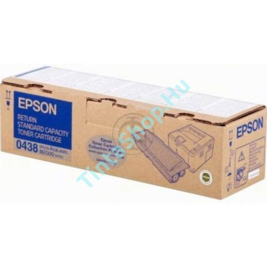 Epson S050438 (M2000) BK fekete (BK-Black) eredeti (gyári, új) toner