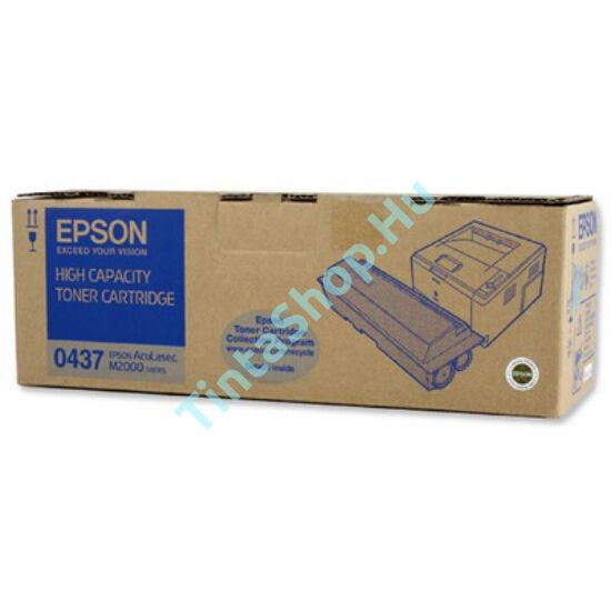 Epson S050437 (M2000) BK fekete (BK-Black) nagy kapacitású eredeti (gyári, új) toner