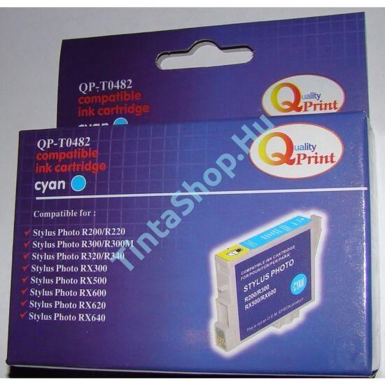 Epson T0482 CY cián (kék) (CY-Cyan) kompatibilis (utángyártott) tintapatron