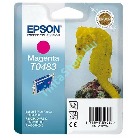 Epson T0483 Magenta (piros) (MG-Magenta) eredeti (gyári, új) tintapatron