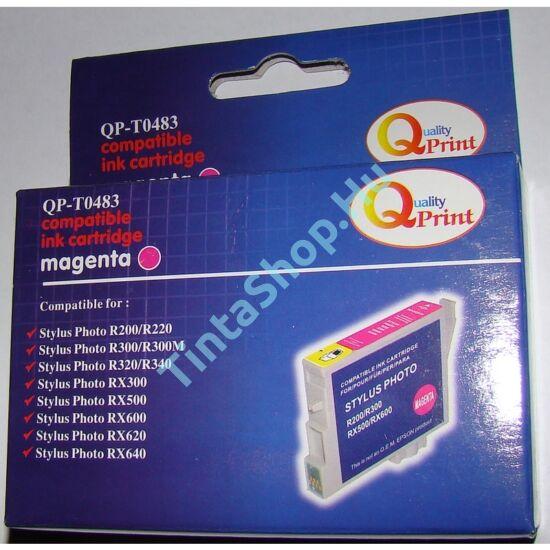 Epson T0483 Magenta (MG-Magenta) kompatibilis (utángyártott) tintapatron