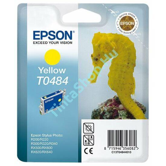 Epson T0484 YL sárga (YL-Yellow) eredeti (gyári, új) tintapatron