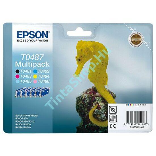 Epson T0487 Multipack eredeti (gyári, új) tintapatron