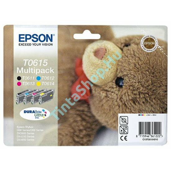 Epson T0615 BCMY Multipack eredeti (gyári, új) tintapatron